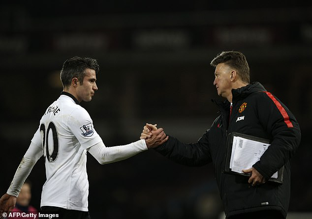 Van Gaal became Manchester United coach just after the 2014 World Cup with Holland