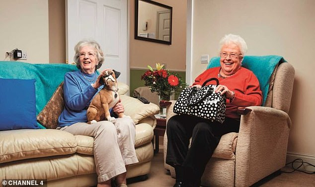 Off the air: Gogglebox stars Mary and Marina have been ordered to stop filming episodes due to the coronavirus pandemic