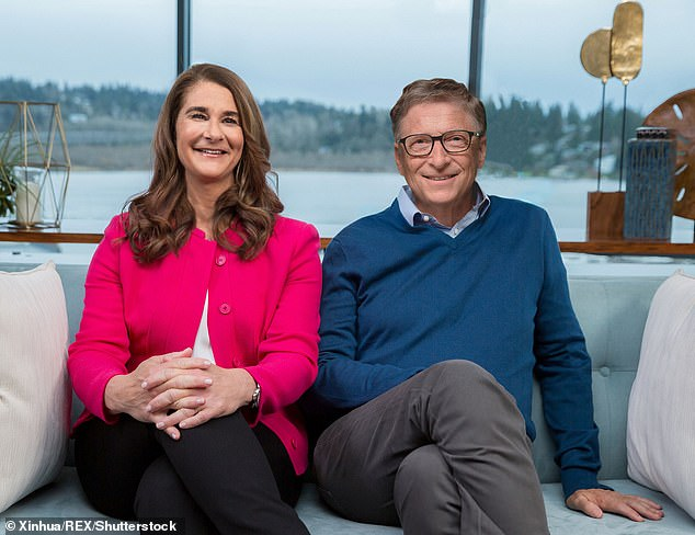 Melinda (left) and Bill Gates together lead the Bill and Melinda Gates Foundation, which has made a significant contribution to the fight against disease in the developing world