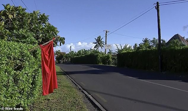 Families in Samoa were asked to hang red flags from their homes to signal they had not been immunised as the nation shut down for two days in December for a mass-vaccination drive