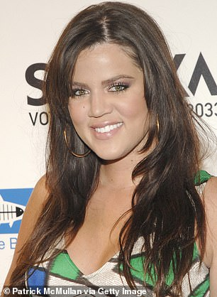 Makeover: Claire McGuinness, specialist in cosmetics and injectables, gave her opinion on the spectacular physical transformation of Khloé Kardashian. Pictured: Khloé April 22, 2008