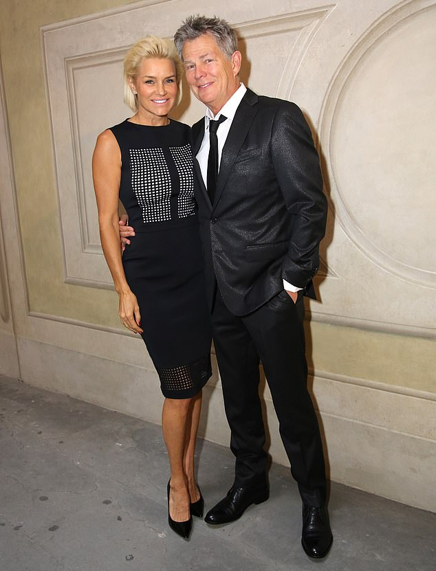 Off key: Before her relationship with Jingoli, Yolanda was married to the famous musician and composer David Foster, 70 years old, from 2011 until their divorce in 2017; Yolanda and David photographed in 2014