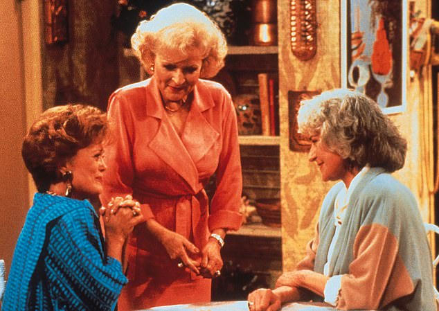 Breakaway:The Golden Girls ended because Bea Arthur (right) did not want to do it anymore, so Betty joined Rue and Estelle in a follow-up sequel series