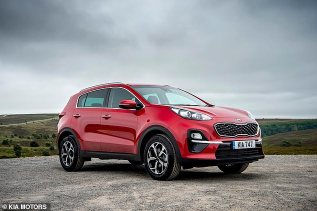 The Sportage is Kia's best-selling model in the UK. The 1.7-liter diesel engine in the version tested here is no longer available, although it is replaced by an equally efficient 1.6-liter engine