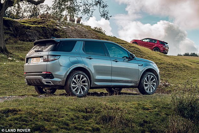 The Discovery Sport (similar to the model shown here) has a 65-liter (14.3-gallon) fuel tank and the official fuel economy based on a laboratory test is 38.9 mpg - although the actual test of What Car? Found the figure to be closer to 33.6 mpg when driving on the road