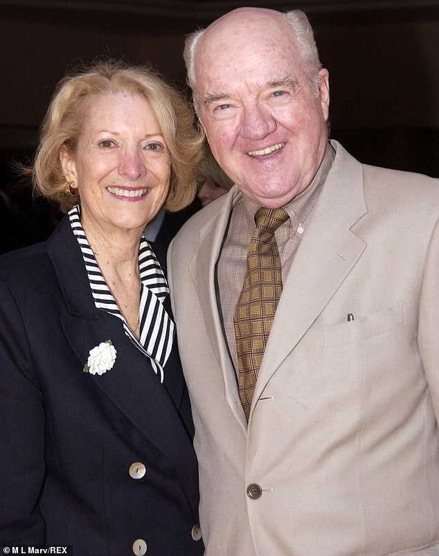 His spouse:The performer is survived by Patricia Crowder Herd (pictured in 2004), his wife of 40 years, as well as his son, daughter, and stepdaughter