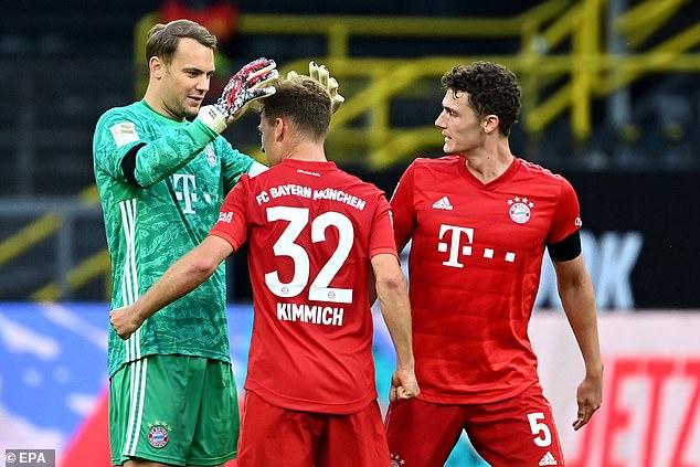 Joshua Kimmich's brilliant chip won Bayern Munich's three points at Signal Iduna Park