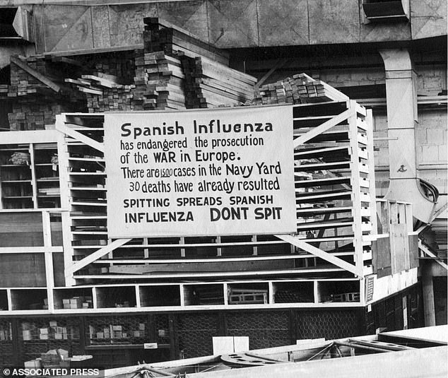 England's chief medical officer, Professor Chris Whitty, and other experts have warned that a second wave could be deadlier than the first, citing evidence of the 1918-20 Spanish Flu pandemic that kills over 50 million people
