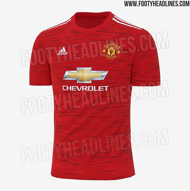 Manchester United's 2020-21 new home kit was 'leaked' online with new subtle design
