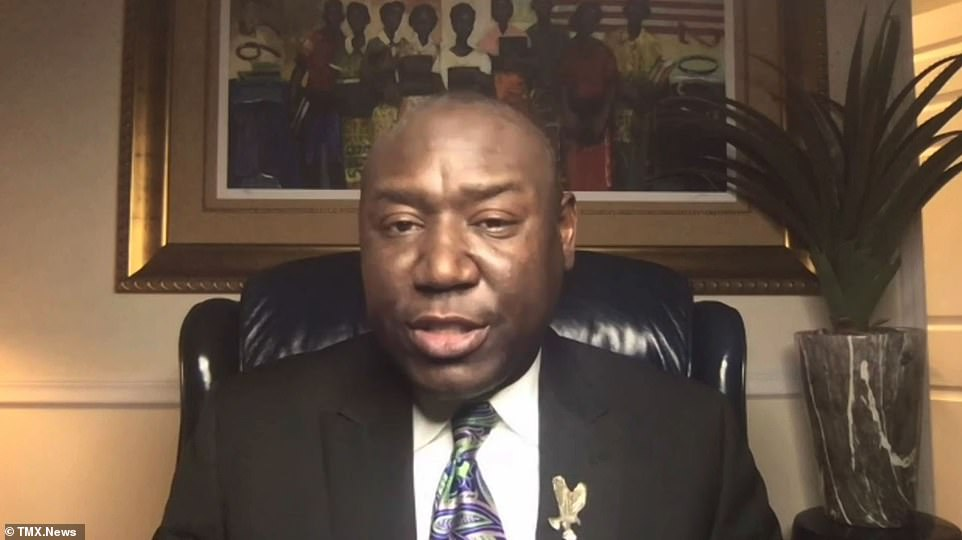 Ben Crump, the attorney for the victim's family has demanded officers face prosecution over the killing and saying this is 'worse than Eric Garner' because the officers held Floyd down by the neck for a staggering eight minutes