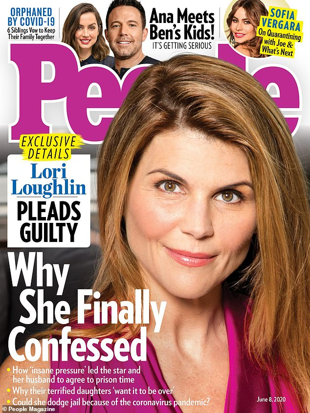 The back story:Lori Loughlin and Mossimo Giannulli said for nearly a year that they would fight the college admissions scandal. But then the 55-year-old actress and 56-year-old fashion designer took a guilty plea a week ago. Now People magazine 's sources are saying the Full House star felt 'insane pressure' to do so