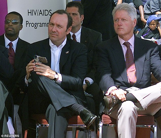 The late pedophile said Clinton made a confession during his trip to Africa in 2002, where they flew in Epstein's private plane with Kevin Spacey and Chris Tucker