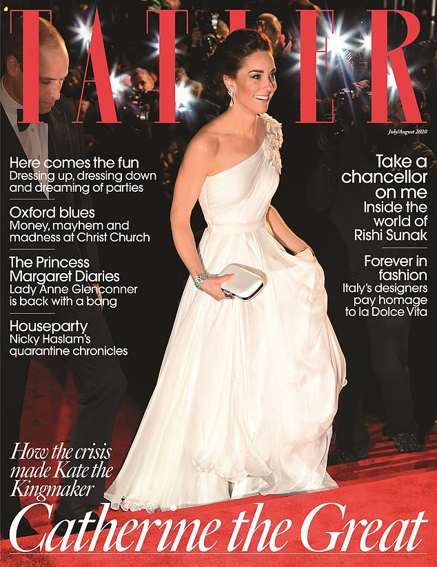 Anger: Tatler's article exasperated Kensington Palace. According to insiders,