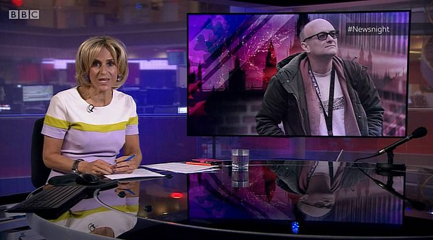 The Newsnight host spoke out on Tuesday's show andclaimed the public had been made to 'feel like fools'