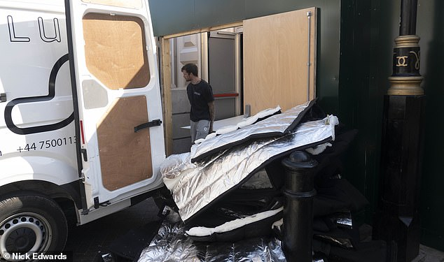 Temporary morgues set up around Britain amid the Covid-19 pandemic are being mothballed as the coronavirus death rate drops. This morgue in central London has been dismantled and others are also set to close, providing further proof the pandemic crisis has peaked