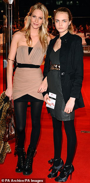 Being related to one of the world's most famous models has its amusing moments, reveals actress Poppy Delevingne