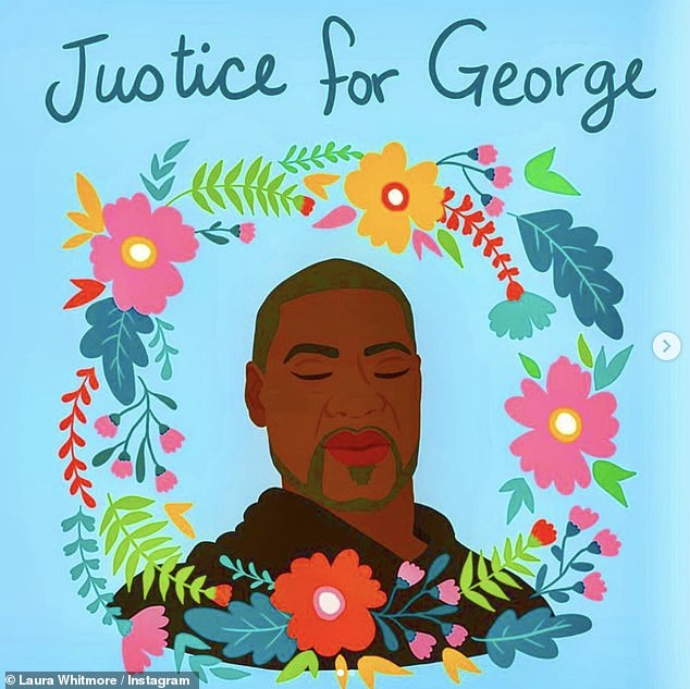 Justice for George!Over the weekend, Laura Whitmore took to Instagram to encourage people to be actively and vocally anti-racist, sharing images and quotes with impassioned captions