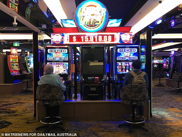Gaming rooms at pubs and clubs across New South Wales are able to reopen from Monday, but social distancing restrictions are still necessary. At the Rooty Hill RLS in Sydney's west, every second poker machine was turned off on Monday