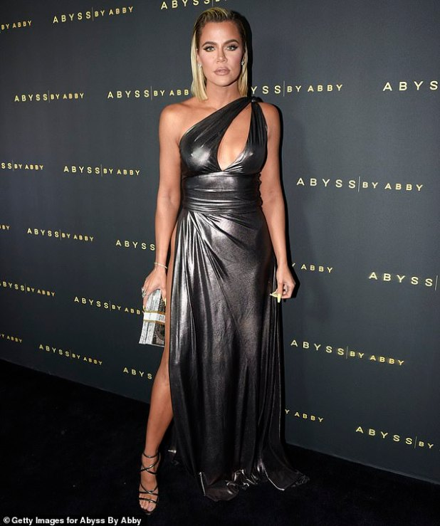 Appearance change: Khloe at an event in January this year