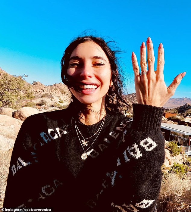 Speaking up: Jessica Origliasso (pictured), 35, from Brisbane pop group The Veronica's shared her post with the caption 'Black Lives Matter' along with information on protests in Australia