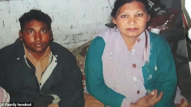 Shagufta Kausar (right) and her husband Shafqat Emmanuel have spent the past six years in prison awaiting an appeal against their death sentence for 'blasphemy' to conclude. Their final hearing is tomorrow at the High Court in Lahore