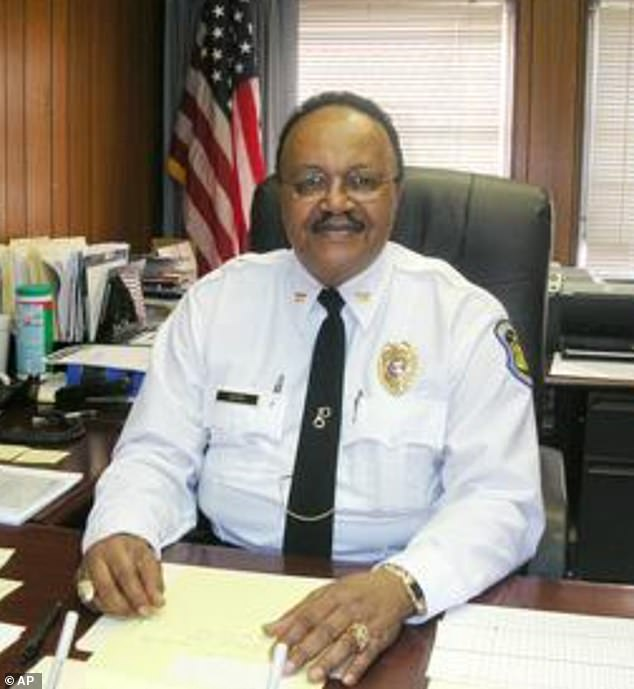 Retired St Louis police captain David Dorn, pictured, was shot dead by looters who had broken into his friend's pawn shop, officials said