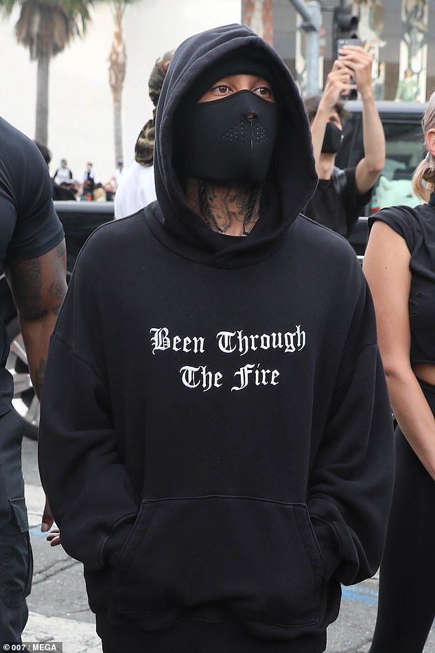 Tyga protests: Tyga showed up to support the ongoing protests over the tragic death of George Floyd, alongside a mystery companion that bears resemblance to his ex Kylie Jenner