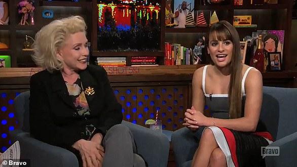 Awkward: Lea slated Aviva on a 2014 appearance on Watch What Happens Live!
