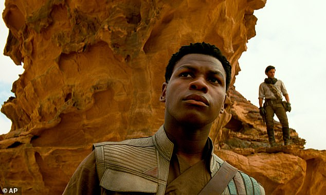 Risk: John (pictured in Star Wars: Episode IX) warned that his activism could hurt his career - but has since been inundated with support from the film industry