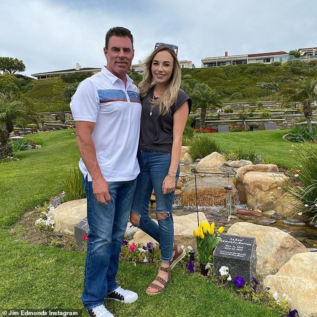 RIP:There were also somber moments, like when Jim and family visited the grave of Lauren and Hayley's mother, Lee Ann Horton, who passed away in 2015