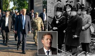Piers Morgan to Donald Trump: You're Not Fit to Light Churchill's Cigar, Mr President, So Stop Dividing and Start Uniting a Country Crying Out in Pain
