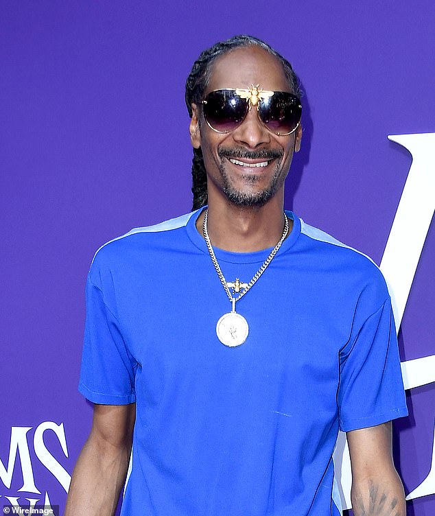 Mistaken: Snoop Dogg is going to vote for the first time in the presidential election after being under the impression he couldn't vote with a criminal record
