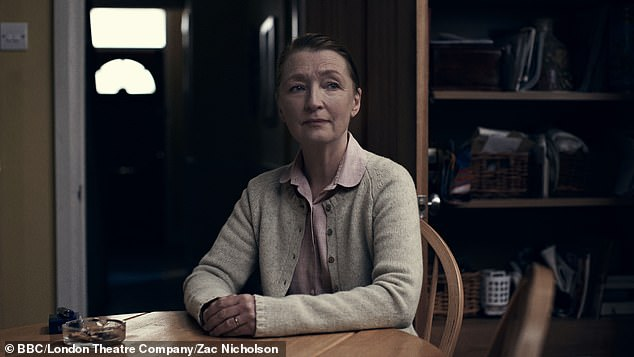 First look: Lesley Manville as Susan in bed among the lenses