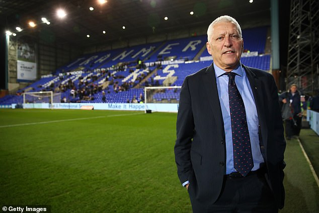 Tranmere chairman Mark Palios will find out about his team on Tuesday, although all signs point to relegation