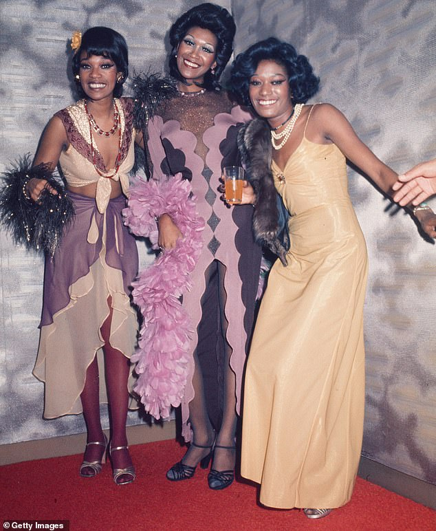 Sad loss: `` It is with great sadness that I must announce to fans of The Pointer Sisters that my sister, Bonnie passed away this morning, '' said sister Anita to the channel.  Bonnie with Anita and Ruth in 1974 in Tokyo