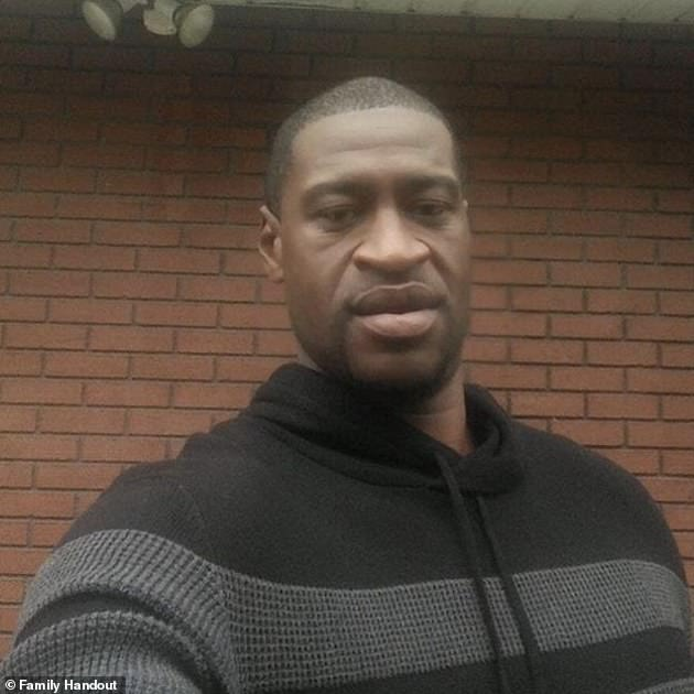 Big loss: move comes after death of African-American George Floyd, 46, last week, who died after Minneapolis policeman Derek Chauvin knelt on the neck for several minutes before dying of suffocation