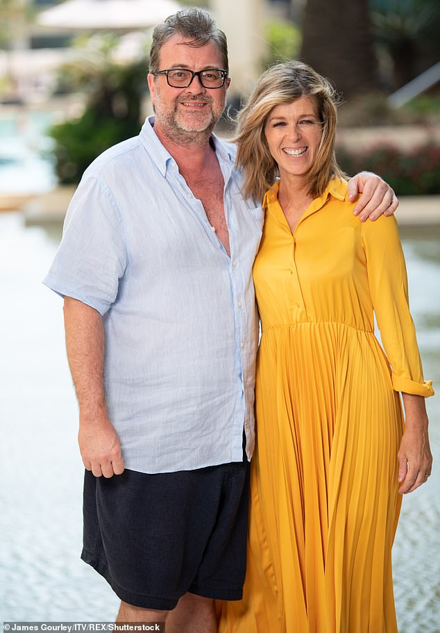 Heartbreaking: Kate's friend Jane Moore revealed in the Loose Women episode Monday that 52-year-old Derek has now been `` brought out of an induced coma '' but has not yet regained consciousness after been taken to hospital with a coronavirus in March