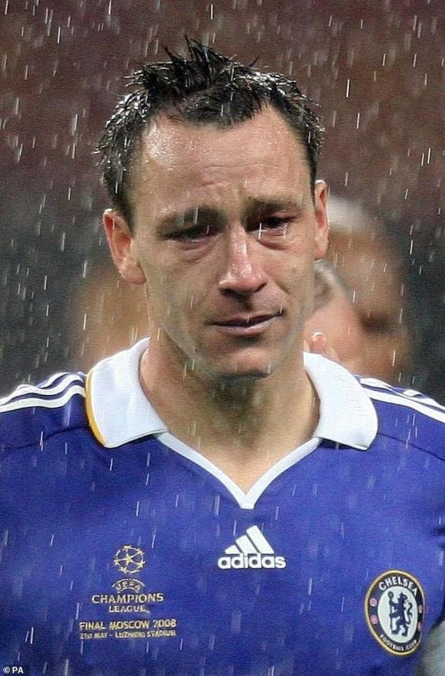 Chelsea captain cried after sliding while taking the kick proved crucial