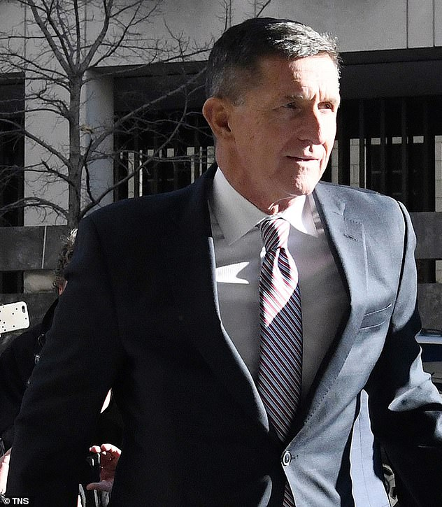 A retired judge this month urged a federal court not allow the Justice Department to dismiss its criminal case against President Donald Trump's former adviser Michael Flynn, who pleaded guilty to lying to the FBI about his Russia contacts