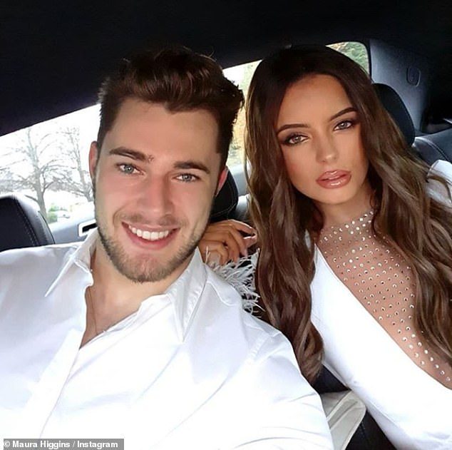 Heartache: Maura has been single since splitting from her Love of the Island of beautiful Curtis Pritchard earlier this year