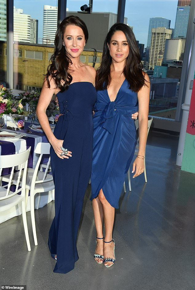 Meghan Markle 's best friend Jessica Mulroney has had her Netflix reality series cancelled and has been fired from her job as a bridal marketing specialist, following 'racist' remarks she made in a 'white privilege' row with a black social media influencer