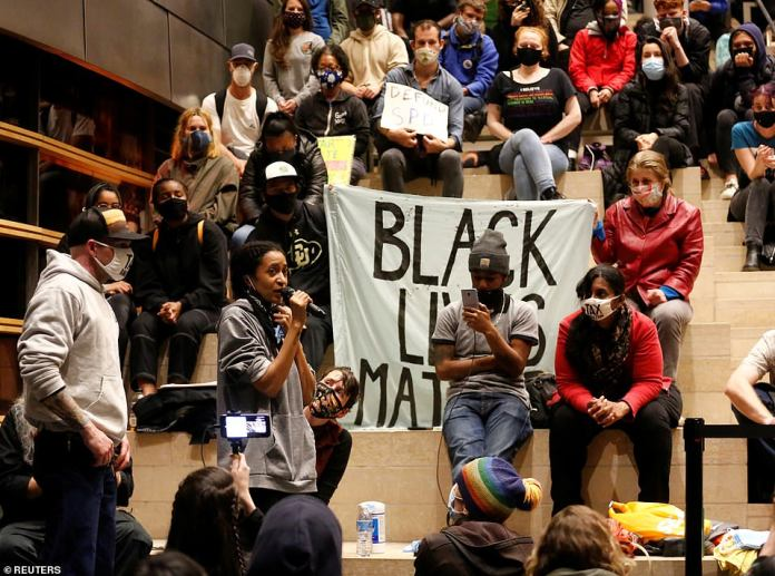 Protesters temporarily took control of Seattle City Hall on Tuesday to demand the resignation of the mayor, after creating a six-block self-contained area in memory of George Floyd and prosecuting city police for their aggressive tactics.