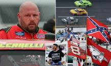 NASCAR Truck Series Driver Ray Ciccarelli Quits After Confederate Flag is Banned at Races as the Sport's Only Black Star Bubba Wallace Applauds Abolishing the 'Hate Symbol'