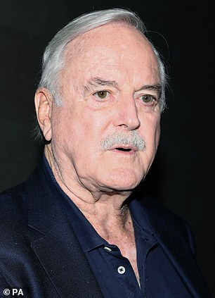 In 2013, the BBC removed the offensive language from future broadcasts on the grounds that public attitudes had 'changed significantly', acting with the full backing of writer Cleese (pictured)