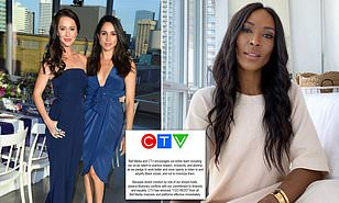 Meghan Markle's Best Friend Jessica Mulroney is Fired From her Canadian TV Gig for 'Racist' Remarks After she was Accused of 'White Privilege' During Row with a Black Social Media Influencer