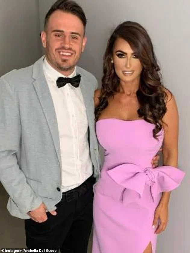 Scandal: Arabella tearfully denied fake pregnancies and miscarriages during her tumultuous relationship with NRL star Josh Reynolds (left) in Nine's 60 Minutes on May 31st