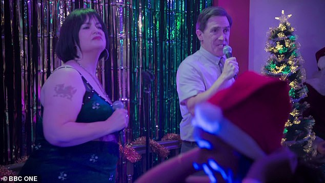 Controversial: It comes after Gavin and Stacey viewers slammed the Christmas special last year for the use of a homophobic slur as Nessa and Uncle Bryn sing The Pogues' popular Christmas song