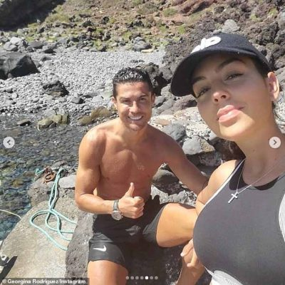 Georgina Rodriguez admits she was 'ashamed' to workout with Cristiano Ronaldo