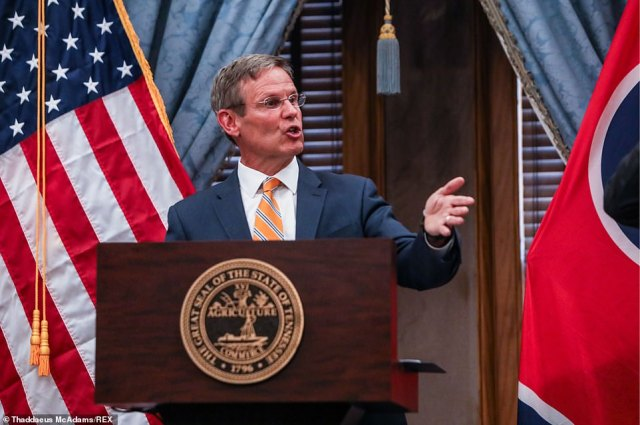 Tennessee Governor Bill Lee, a Republican, warned that 'Lawlessness, autonomous zones, and violence will not be tolerated'