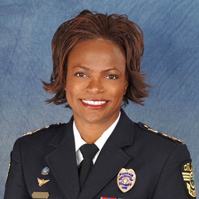 Val Demings, 63, was chief of Orlando police from 2007-11. Her rule was controversial, with several incidents of police using excessive force but going without serious punishment